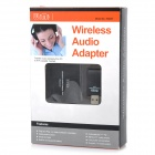 WA001 Wireless Audio Adapter USB Transmitter and Receiver Kit - Black