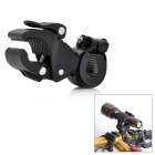 KK11 Universal Plastic Cycling Bicycle Flashlight Torch Mount Holder Clamp - Black