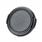 46mm Universal Plastic Lens Cap for Sony / Pentax / Fuji Camera - Black