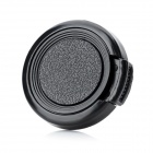 27mm Universal Plastic Lens Cap for Sony / Pentax / Fuji Camera - Black