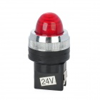 DIY Red LED Indicator - Black (DC 24V)