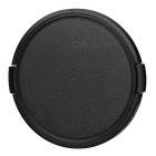 82mm Universal Plastic Lens Cap for Sony / Pentax / Fuji Camera - Black