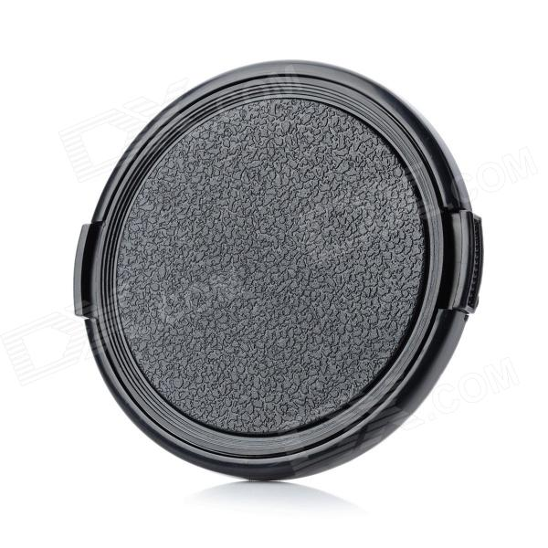 67mm Universal Plastic Lens Cap for Sony / Pentax / Fuji Camera - Black