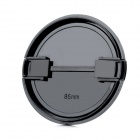 86mm Universal Plastic Lens Cap for Sony / Pentax / Fuji Camera - Black