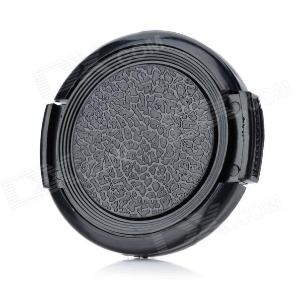 39mm Universal Plastic Lens Cap for Sony / Pentax / Fuji Camera - Black