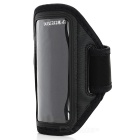 Trendy Sports Outdoor Armband with Stylus Pen for Iphone 5 - Black