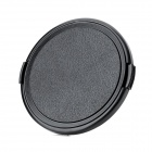 77mm Universal Plastic Lens Cap for Sony / Pentax / Fuji Camera - Black