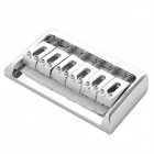 Instrument Chrome 4-String E-Gitarre Brücke Saddle - Silver
