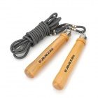 Professional Adjustable Skipping Jump Rope - Grey (2.8m)
