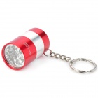 SMALL SUN ZY-8865 5W 6-LED Mini Flashlight - Red (2 x CR2032)