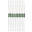DIY Circuit Safety Protection 1A Self-Resetting Fuse Set - Silver + Green (10 PCS)