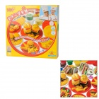 Hamburg Cake DIY Super Modeling Fun Mud Toy - Multicolored