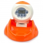 Automatic Pet Feeder with Digital Timer and 20-Second Voice Recorder (4*AA)