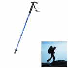 TY-P2001 Light Weight Retractable Aluminum Alloy Trekking Hiking Walking Stick Pole - Blue