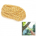 AceCamp 9072 Outdoor Camping Noctilucent Rope for Tent - Yellow + White (20m)