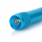 Munkees 1076 da liga de alumínio Quick Release w / White Light Lamp LED - Azul (4 x LR41)