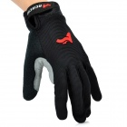 ACACIA 0394012 Cycling Full Finger Gloves - Black (1 Pair / Size XL)