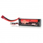 Replacement 14.8V 30C 2200mAh Li-Poly Battery Pack for R/C Model - Silver