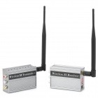 2,4 GHz 3,5 W Wireless Transmitter und Receiver Kit w / Antennen - Grau