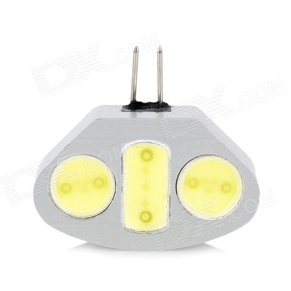 G4 4.5W 420LM Cold White Light 3-LED Decoration Bulb (12V)
