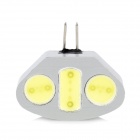 G4 4.5W 420lm 3-LED White Light Decoration Lamp (12V)