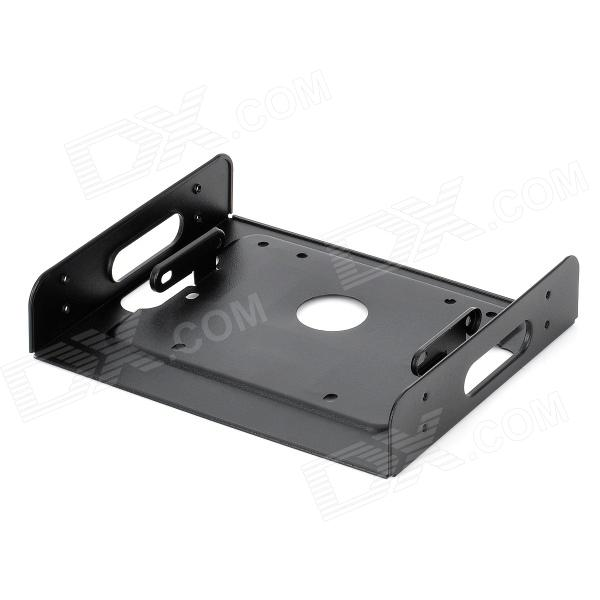 "Akasa AK-HDA-01 SSD / HDD to 5.25"" Drive Rack Bracket Adapter - Black"
