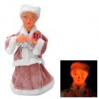 "12"" Russian Girl Style Automatic Shaking Doll Toy w/ Music - Pink"