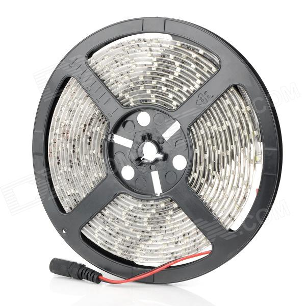 SENCART Waterproof 18W 1200lm 300-SMD 3528 LED White Light Car Decoration Lamp Flexible Strip (5M) jr smd3528 60 w 24w 6500k 1200lm 300 smd 3528 led white flexible lamp strip 12v 5m