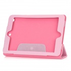Folding Protective PU Leather Case for Ipad MINI - Pink