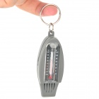 Acecamp 4-in-1 Outdoor Survival Whistle + Compass + Thermometer + Magnifier - Dark Grey