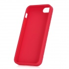 Protective TPU Soft Back Case for Iphone 5 - Deep Pink
