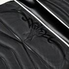 Fashion PU Leather Seat Cover for Yamaha - Black + White
