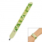 Wrist Band Style Wave Pattern Capacitive Screen Stylus Pen for Iphone 5 + More - Army Green