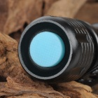 UltraFire Cree XM-L T6 600lm 5-Mode White Light Zooming Flashlight - Black (1 x 18650)