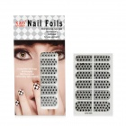 Cool Love Heart Style Nail Art Sticker - Black