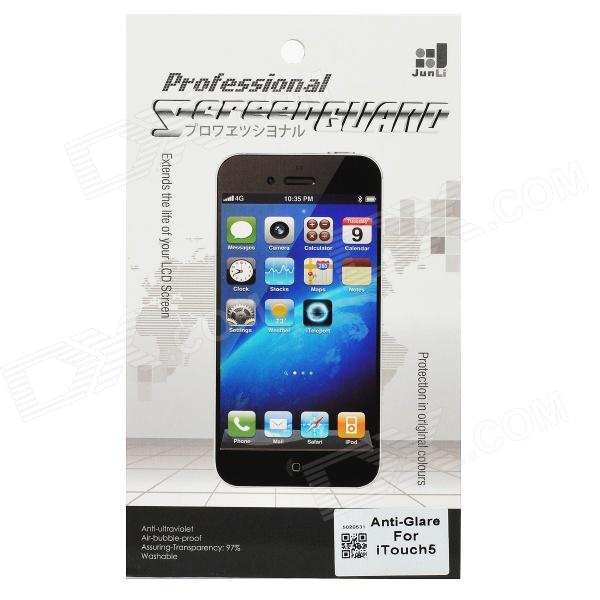 Protective PET Matte Screen Protector Film Guard for Ipod Touch 5 - Transparent