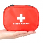 M1209002 Emergency First Aid Kit Bag Survival Tool Set - Red