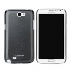 NILLKIN Protective Plastic Back Case w/ Screen Protector for Samsung Galaxy Note 2 N7100 - Black