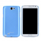 NILLKIN Protective Plastic Back Case w/ Screen Protector for Samsung Galaxy Note 2 N7100 - Blue