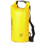 Outdoor Sports Folding PVC Water Resistant Dry Bag - Yellow