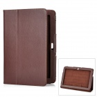 Protective PU Leather Case for Samsung Galaxy Tab 10.1 P7500 / P7510 - Coffee