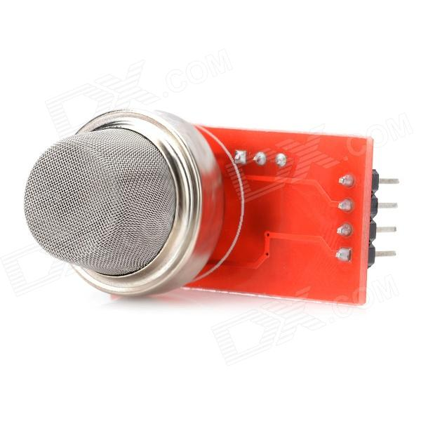 MQ2 High Sensitivity Gas Smoke Detector Sensor - Red + Silver