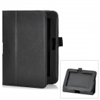 Protective PU Leather Case for Kindle Fire HD - Black