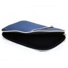 "Protective Padded Zippered Inner Bag for All 7"" Tablet PCs - Dark Blue"