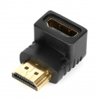 HDMI f-m adapter + hdmi till mini-HDMI-f-m adapter set - svart