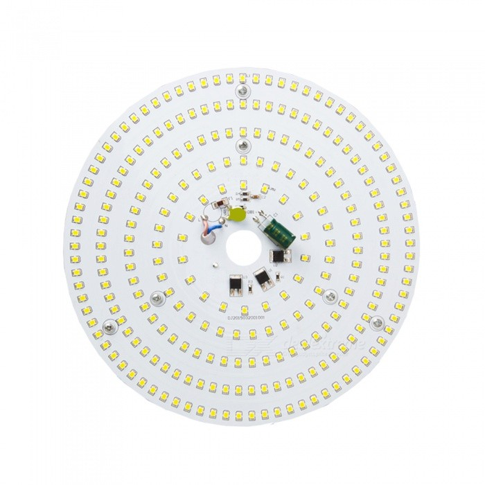 21W 3500K 2500lm 322-SMD 3528 LED Warm White Light Ceiling Lamp w/ Magnet - Silver (AC 110~250V) kinfire square shaped 15w 1320lm 75 smd 3528 led white light ceiling lamp w driver ac 85 265v