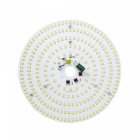 21W 3500K 2500lm 322-SMD 3528 LED Warm White Light Ceiling Lamp w/ Magnet - Silver (AC 110~250V)