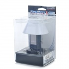 OImaster USB 2.0 3-Port Hub + LED Night Lamp - Black + White