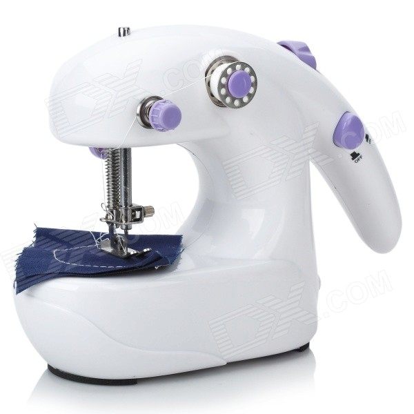 Variable Speed Mini Sewing Machine (4xAA)