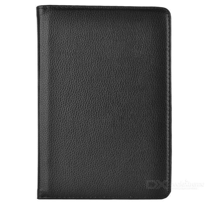 360 Degrees Rotation Protective PU Leather Case for Ipad MINI - Black